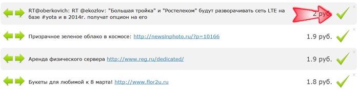 Заработок на рекламной бирже Твайт.ру