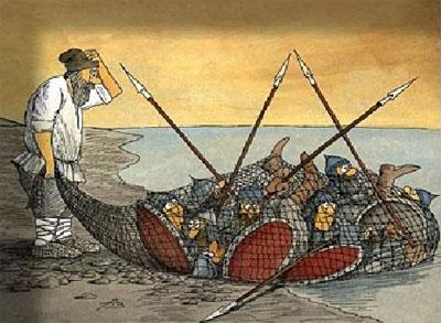 Сказка о Золотой Рыбке (rabotaidoma.ru blog version)